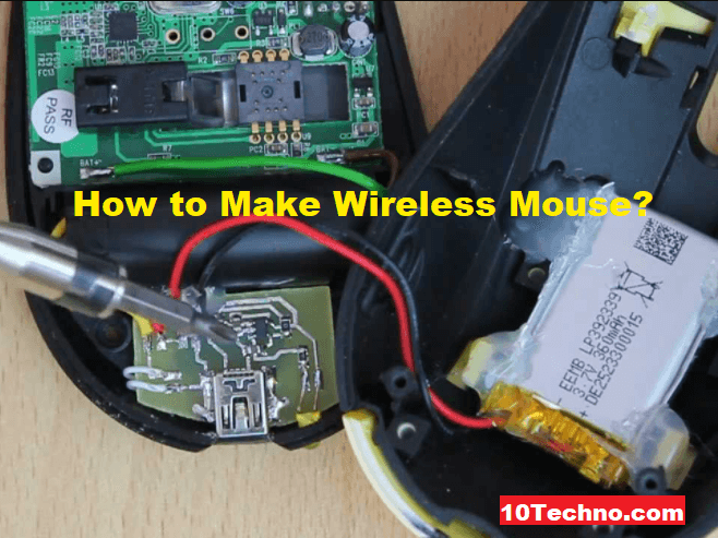 How to Make Wireless Mouse Discoverable