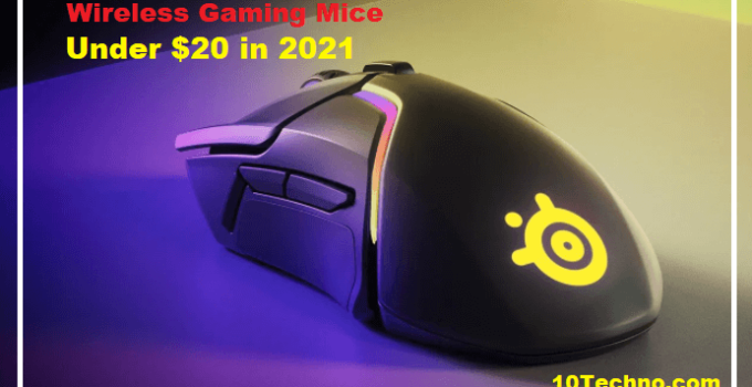 Best Wireless Gaming Mouse Under $20