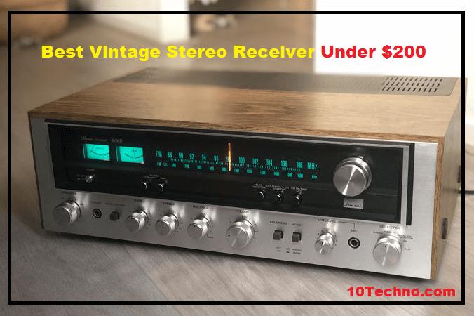 Best Vintage Stereo Receiver Under $200